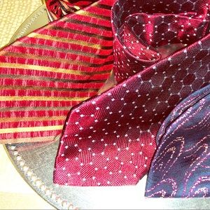 TIE TRIO-3 beautiful ties for the price of ONE. ♥️